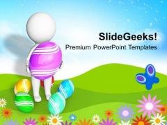 Surprises Are Waiting For Easter PowerPoint Templates Ppt Backgrounds For Slides 0313