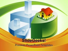 Sweet Home Real Estate PowerPoint Templates And PowerPoint Backgrounds 0411