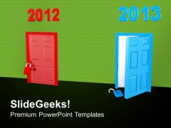 Switch To New Year 2013 PowerPoint Templates Ppt Backgrounds For Slides 0513
