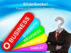 Swot Analysis Tag Symbol PowerPoint Templates And PowerPoint Themes 0912