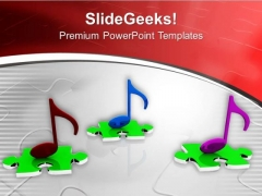 Symbol Of Melody PowerPoint Templates Ppt Backgrounds For Slides 0513