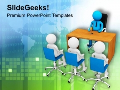 Take An Interview To Get Right Candidate PowerPoint Templates Ppt Backgrounds For Slides 0713