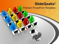 Take Clesses For Better Knowledge PowerPoint Templates Ppt Backgrounds For Slides 0713