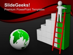 Take Shortcut For Achieve Top Position PowerPoint Templates Ppt Backgrounds For Slides 0613