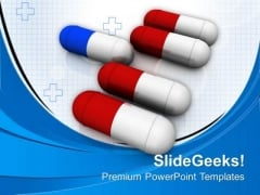 Take The Right Pills For Disease PowerPoint Templates Ppt Backgrounds For Slides 0613