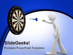 Target01 Success PowerPoint Template 0910