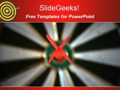 Target Competition PowerPoint Template