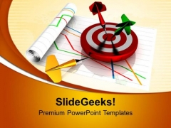 Target Dart Goal Success PowerPoint Templates Ppt Backgrounds For Slides 0713