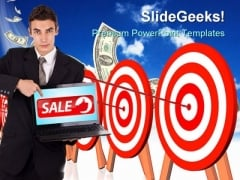 Target Monthly Sales Finance PowerPoint Templates And PowerPoint Backgrounds 0311