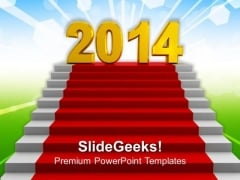 Target New Year 2014 PowerPoint Template 1113
