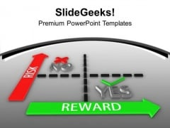 Targets With Risk And Great Reward PowerPoint Templates Ppt Backgrounds For Slides 0313