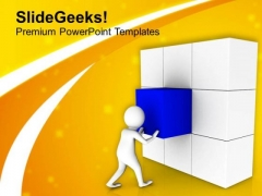 Task On Time Cubes Strategy PowerPoint Templates Ppt Backgrounds For Slides 0813
