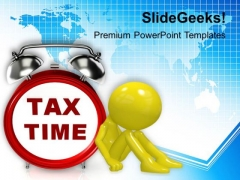 Tax Time Finance PowerPoint Templates And PowerPoint Themes 1112
