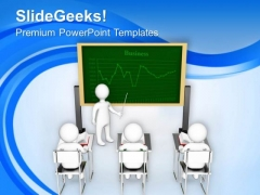 Teach The Business Techniques To Your Team PowerPoint Templates Ppt Backgrounds For Slides 0513