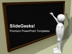 Teacher Education PowerPoint Themes And PowerPoint Slides 0511