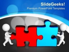 Team Accepts The Challenge And Task PowerPoint Templates Ppt Backgrounds For Slides 0513