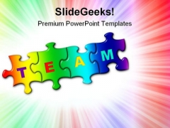Team Business PowerPoint Templates And PowerPoint Backgrounds 0811