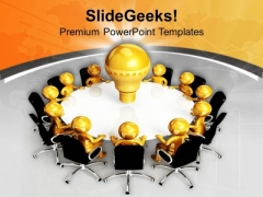 Team Can Generate Good And Effective Ideas PowerPoint Templates Ppt Backgrounds For Slides 0713