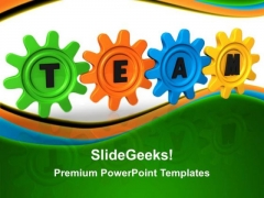 Team Connection Business PowerPoint Templates And PowerPoint Themes 0212