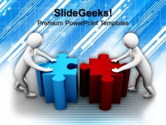 Team Effort Business PowerPoint Templates And PowerPoint Themes 1112