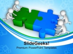 Team Efforts Can Complete Task PowerPoint Templates Ppt Backgrounds For Slides 0713