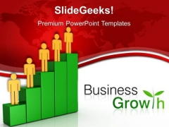 Team Growth Business PowerPoint Templates And PowerPoint Themes 0512