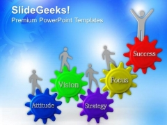 Team In Action For Success PowerPoint Templates Ppt Backgrounds For Slides 0713