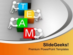 Team Is The Important Part Of Company PowerPoint Templates Ppt Backgrounds For Slides 0613