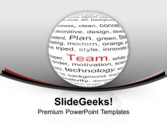 Team Is Very Important For Business Growth PowerPoint Templates Ppt Backgrounds For Slides 0413