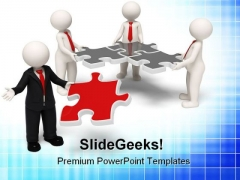 Team Leader Leadership PowerPoint Themes And PowerPoint Slides 0911