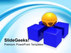 Team Leader Need Support Of Team PowerPoint Templates Ppt Backgrounds For Slides 0313