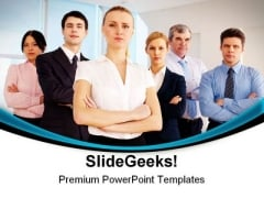 Team Leadership PowerPoint Themes And PowerPoint Slides 0711