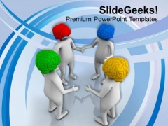 Team Meeting Business Target PowerPoint Templates Ppt Backgrounds For Slides 0413