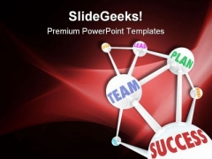 Team Plan Success Business PowerPoint Templates And PowerPoint Backgrounds 0811