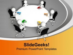 Team Sharing Their Ideas Development PowerPoint Templates Ppt Backgrounds For Slides 0713