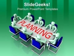 Team Strategic Planning For Business Management PowerPoint Templates Ppt Backgrounds For Slides 0713