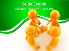 Team Success PowerPoint Themes And PowerPoint Slides 0811