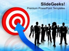 Team Target Success Business PowerPoint Templates And PowerPoint Themes 1112