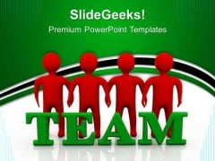 Team Teamwork PowerPoint Templates And PowerPoint Themes 0512