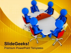 Team Thinking Of Construction Process PowerPoint Templates Ppt Backgrounds For Slides 0713
