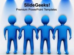Team Unity Teamwork PowerPoint Templates And PowerPoint Themes 0612