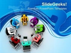 Team With Diversity Is Good PowerPoint Templates Ppt Backgrounds For Slides 0713