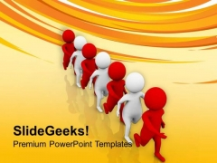 Team With Diversity Is Very Good PowerPoint Templates Ppt Backgrounds For Slides 0713
