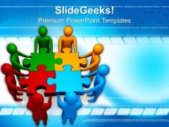Teams Efforts Teamwork PowerPoint Templates And PowerPoint Themes 1112