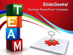 Teams Solution Business PowerPoint Templates And PowerPoint Backgrounds 1211