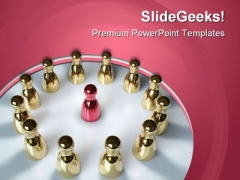 Teamwork Concept Chess Sports PowerPoint Templates And PowerPoint Backgrounds 0611