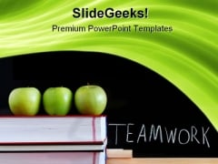 Teamwork Education PowerPoint Backgrounds And Templates 1210