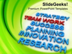 Teamwork Is Key Of Success PowerPoint Templates Ppt Backgrounds For Slides 0513