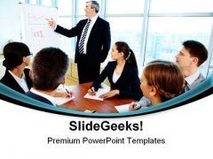 Teamwork Seminar Business PowerPoint Themes And PowerPoint Slides 0811