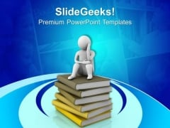 Tension For Studies Education Concept PowerPoint Templates Ppt Backgrounds For Slides 0513
